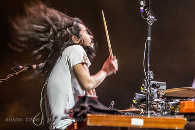 Christopher Guanlao, drums, Silversun Pickups