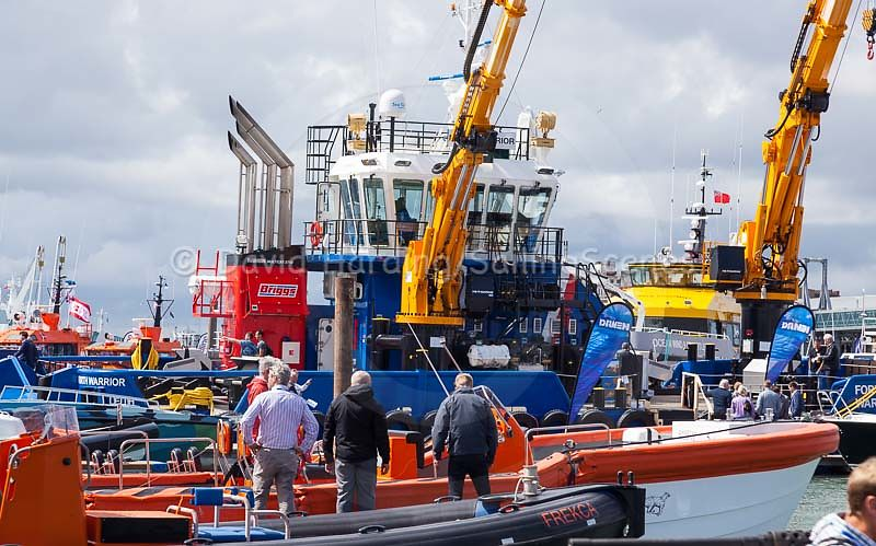 Some big toys at Seawork 2016