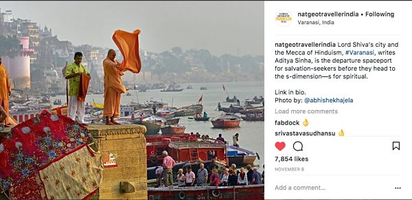 Nat Geo India Instagram Page, Nov 8 2017