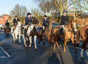 Bella Higham - Boxing Day Meet of the Cottesmore Hunt, Oakham 26/12