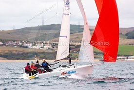 Mini Mayhem, GBR9063T, Melges 24, Weymouth Regatta 2018, 20180908748.