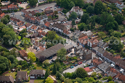 Aerial view of Cookham, Berkshire