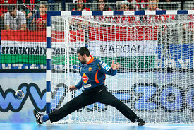 Arpad ŠTERBIK of Vardar during the Final Tournament - Final Four - SEHA - Gazprom league, semi finals match, Varazdin, Croati...