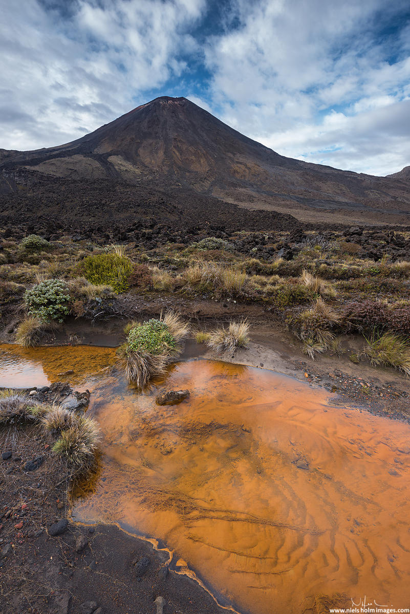 Red Crater, Tongariro National Park - New Zealand