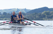 Taken during the World Masters Games - Rowing, Lake Karapiro, Cambridge, New Zealand; ©  Rob Bristow; Frame 500 - Taken on: T...