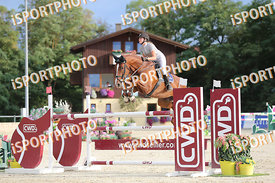 SIXT Johanna (AUT) and FINI 8 during LAKE ARENA - The Summer Circuit II, CSI2*, GOOD BYE COMP, 140 cm, 2017 August 27 - Wiene...