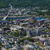 City Center And Basilica of Saints Peter and Paul, Lewiston