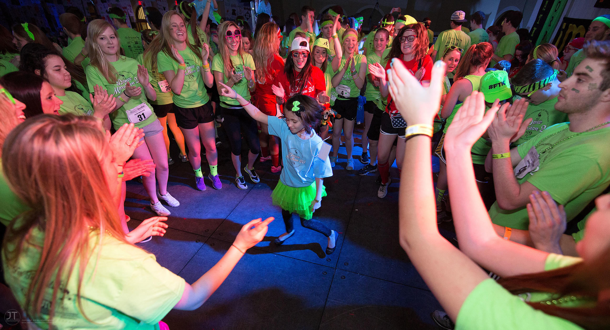 2014 Iowa Dance Marathon, February 7, 2014