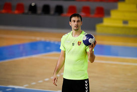 Igor Karacic during the Final Tournament - Semi final match - Vardar vs Meshkov Brest - Final Four - SEHA - Gazprom league, S...
