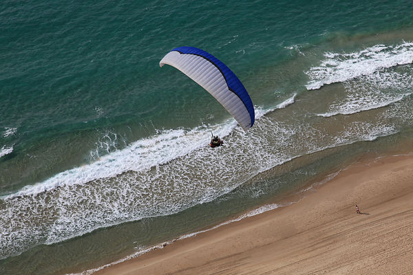 Paragliding at netanya photos
