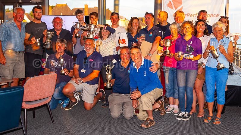Prize winners at Zhik Poole Week 2018