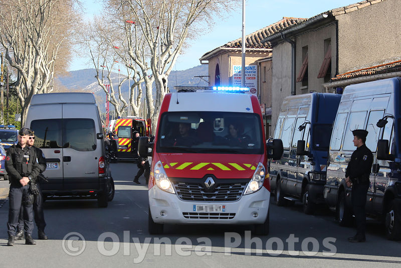 Attacks  terrorists in Trèbes