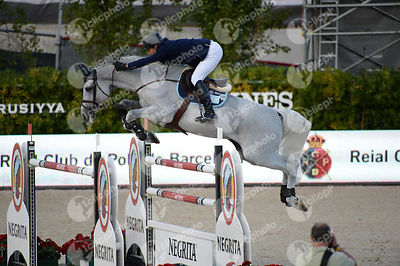 Jose Maria LAROCCA ,(ARG), CORNET DU LYS during Longines Cup of the City of Barcelona competition at CSIO5* Barcelona at Real...