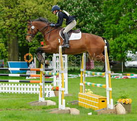 Daisy Liddle and COUNT DANILO - Rockingham Castle International Horse Trials 2016