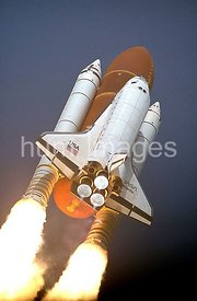 Space Shuttle Atlantis thunders skyward from Launch Pad 39A. Liftoff of Mission STS-45 occurred at 8:13:40 a.m. EST, March 24...