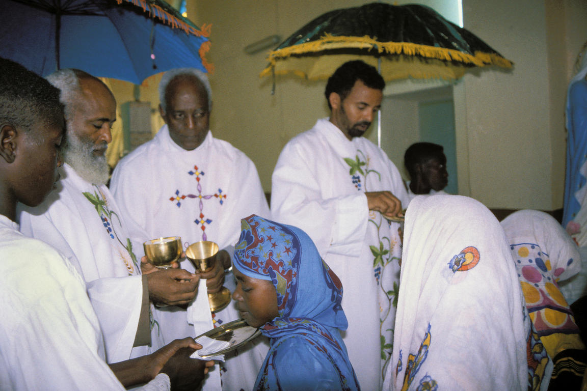 Bimbina church communion