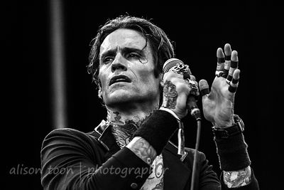 Josh Todd, vocals, Buckcherry