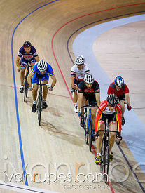 Master C/D men Scratch Race, Ontario Track Championships, Day 1, April 10, 2015