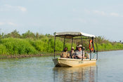 Boat trip on the Rufiji River, Selous Game Reserve, Tanzania
