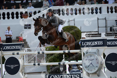 Ludger BEERBAUM ,(GER), CHAMAN during Longines Cup of the City of Barcelona competition at CSIO5* Barcelona at Real Club de P...