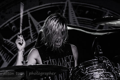 Nick Rossi, drums, New Years Day, Sacramento