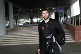 Vuko Borozan during the Final Tournament - Final Four - SEHA - Gazprom league, Team arrival in Brest, Belarus, 06.04.2017, Ma...