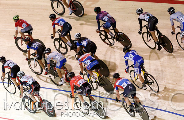 Men's omnium scratch race. 2014 Canadian Track Championships, January 4, 2015