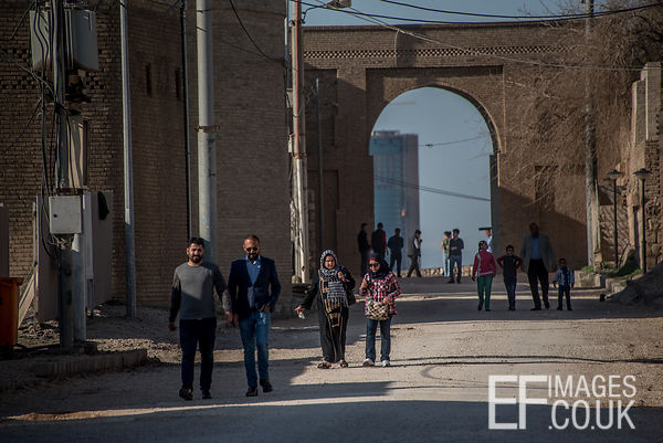 Walking Through The Citadel Of erbil