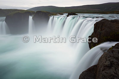 Godafoss waterfall ('Fall of the Gods'), on Skjalfandafljot river