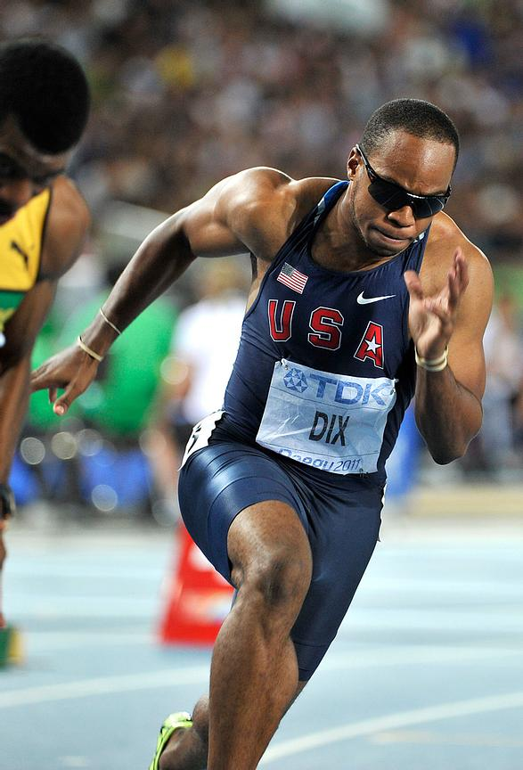 Walter Dix is an American sprinter who specializes in the 100 meters and 200 meters.