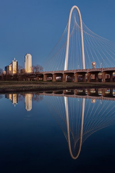 Margaret Hunt Hill Bridge Reflections