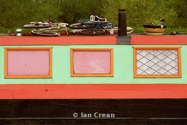 Colourful Barge