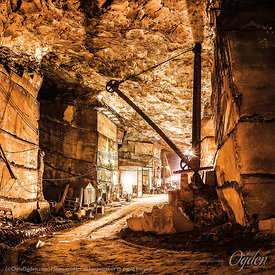 Danby White Marble | Vermont Danby Quarry | Vermont Quarries Corporation | Danby, Vermont, USA | Photo courtesy of Chris Ogde...