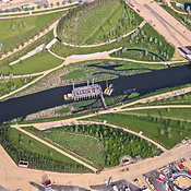 Aerial View Of The London Olympic Park, London