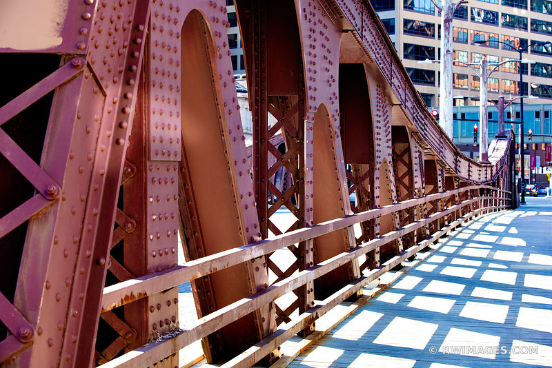 LA SALLE BRIDGE CHICAGO DRAWBRIDGE CHICAGO ILLINOIS