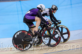 Women Sprint 3-4 Final. Canadian Track Championships, Mattamy National Cycling Centre, Milton, On, September 25, 2016