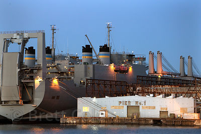 Seagirt Marine Terminal, Port of Baltimore, Maryland