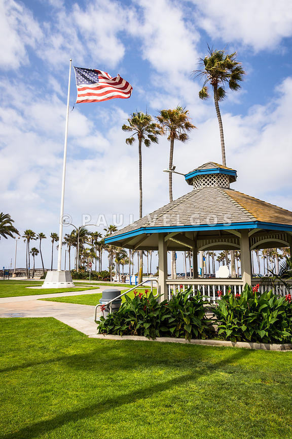 Newport Beach Peninsula Park Gazebo in Orange County