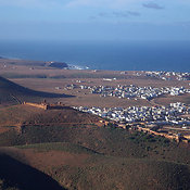 Fort And Coastal Town Of Mirleft, Morocco