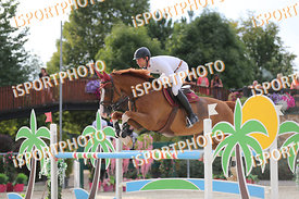 SCHAFER Kai (GER) and OKTAVIAN 17 during LAKE ARENA - The Summer Circuit II, CSI2*, GOOD BYE COMP, 140 cm, 2017 August 27 - W...