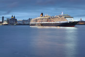 Queen Victoria in the River Mersey