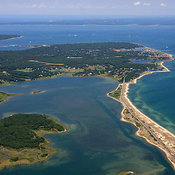 Edgartown Beach And Sengekontacket Pond, Martha's Vineyard