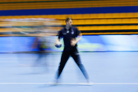 Lovro Jotic during the Final Tournament - Final Four - SEHA - Gazprom league, Team training in Brest, Belarus, 06.04.2017, Ma...