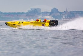 X-77, Fortitudo Poole Bay 100 Offshore Powerboat Race, June 2018, 20180610224