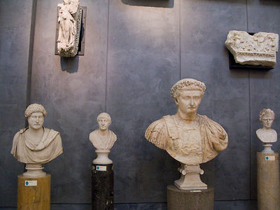 Italy - Naples - Statues in the National Archaelogical Museum, Naples
