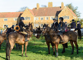 Boogie Machin At the meet. The Belvoir Hunt meet at Waltham House 22/12