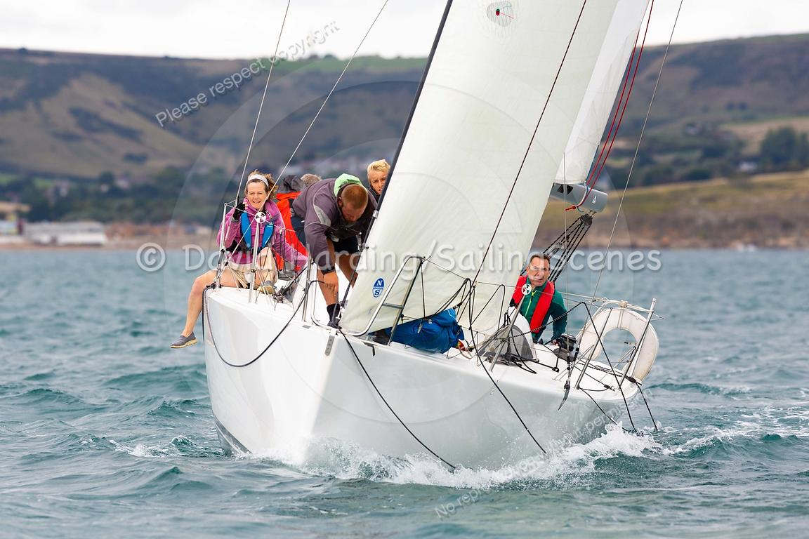 58 Degrees North, FRA37443, Archambault A31, Weymouth Regatta 2018, 20180908501.