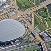 Aerial View Of The Velodrome, London