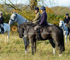 Amber Hoskins near Denton. The Belvoir Hunt at the Kennels 13/11