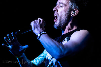 Chris Musser, vocalist, From Ashes To New